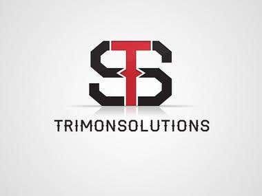 Trimon Solution - logo work