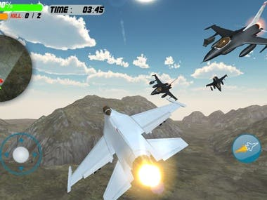 3D GAME AIRPLANE SHOOTER