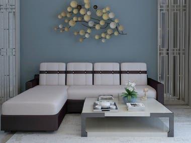 sofa modeling