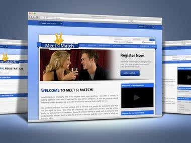Dating Service Site