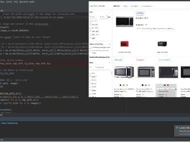 Web Crawling & Data scraping & Data analyzing