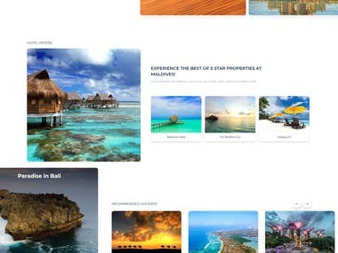 Travel, Flight & Hotel (all in one website)