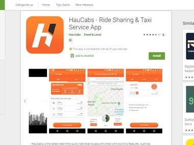 HauCabs - Ride Sharing & Taxi Service App