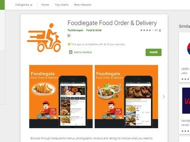 Foodiegate Food Order & Delivery