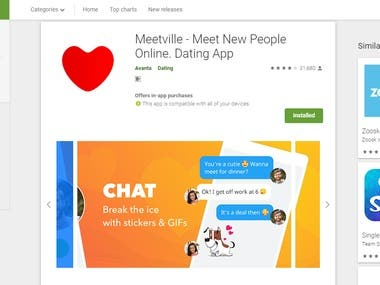 Meetville - Meet New People Online. Dating App