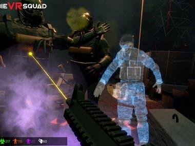 Zombie VR Squad VR Game