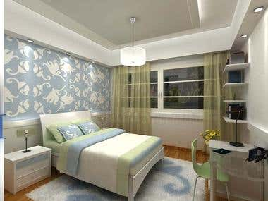 Single Bedrooms Design