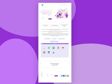 Toolbox TP Landing Page Design