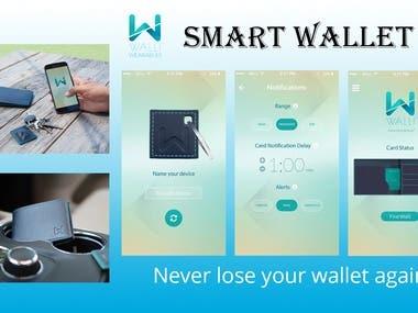 Smart Wallet App - Never losing wallet