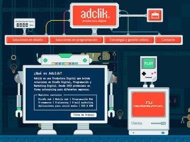 Adclik - Digital production
