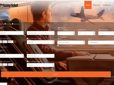 Travel Agency Website (Dynamic)
