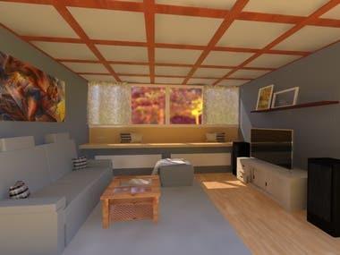 3d architecture modelling