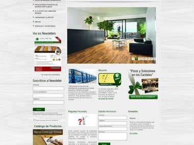 Vigorita Maderas products catalog