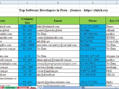 Data Entry / Excel (1)