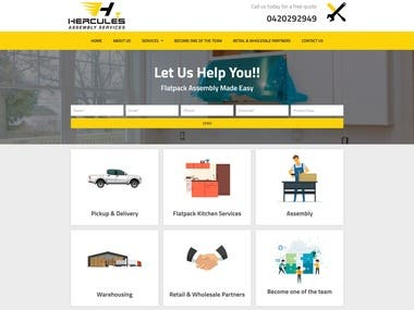 Assembly Services Website