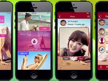 iPhone Social App