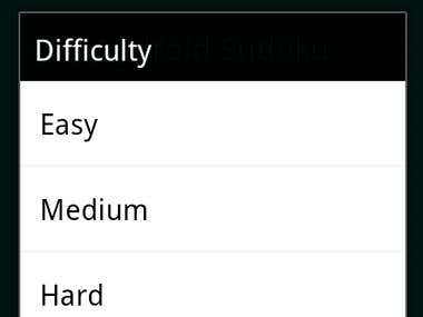 Game Difficulty level in Android