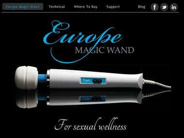Europe Magic Wand Website & Mails - English - Italian