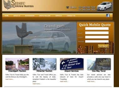 Chandigarh Mohali Taxi service