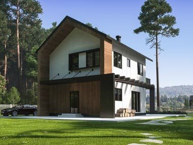 House in Bosna