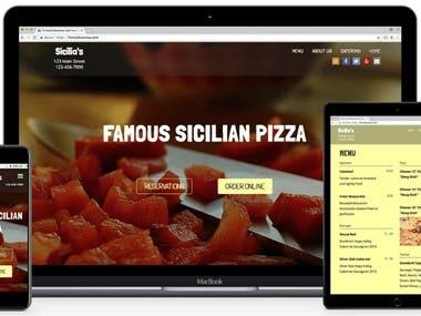 Restaurant Web & App