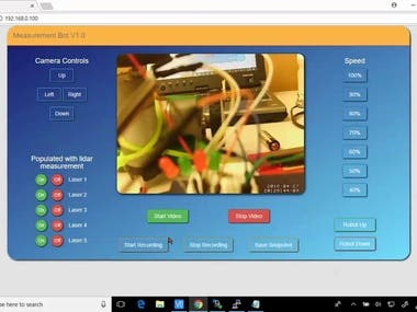 Complete remote robot control based on Raspberry pi 3
