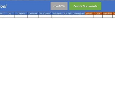 Automated Documents Creation Tool