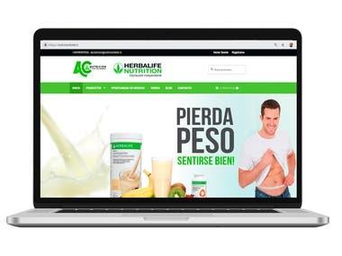 Herbalife-shopping cart