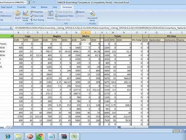 Dynamic and automated Reports through VBA and formules