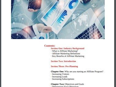 Affiliate Marketing Plan Builder
