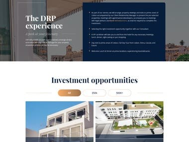 DRP Adviser website