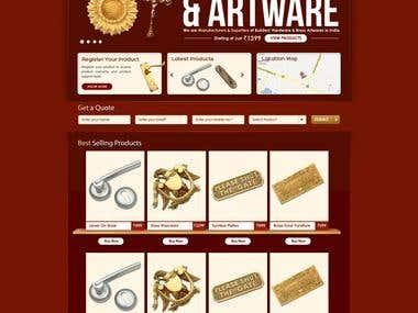 Carbon Brass E Commerce Portal