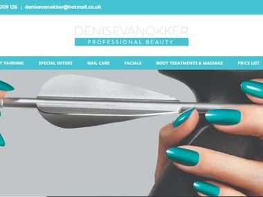 Beauty Treatment Website