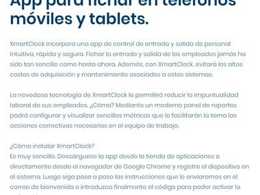 Control de asistencia laboral por celular