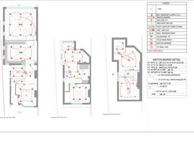Electrical Layout For Residence
