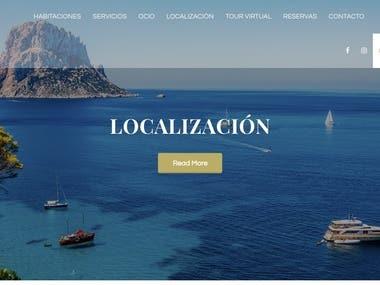 DESIGN - IBIZA HOTEL WEBSITE