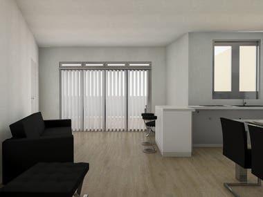 ARCHITECTURE - Apartment Renovation in Valencia center.