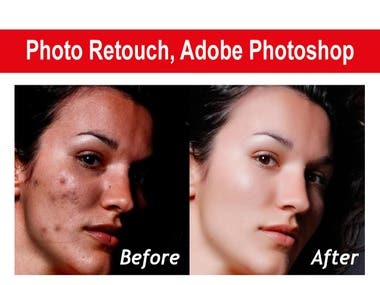 Photo Retouch, Adobe Photoshop CC