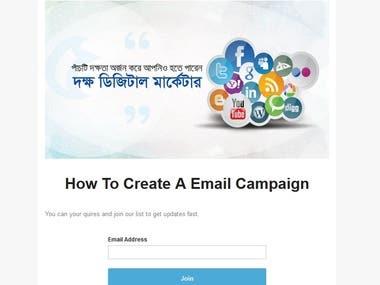 Lead Genaration Campaign