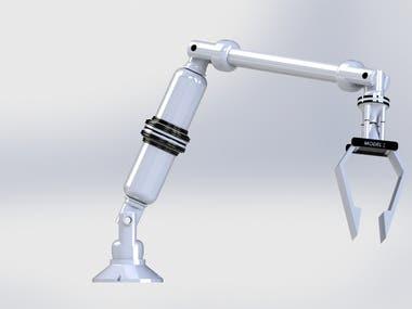DESKTOP ROBOTIC ARM