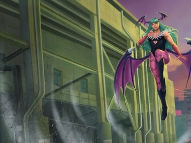 Cover Art Morrigan Aensland