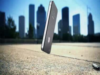 3D Iphone Falling