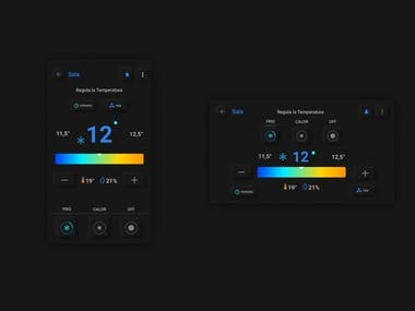 App design thermostat