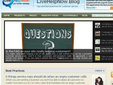 Livehelpnow : theme customization