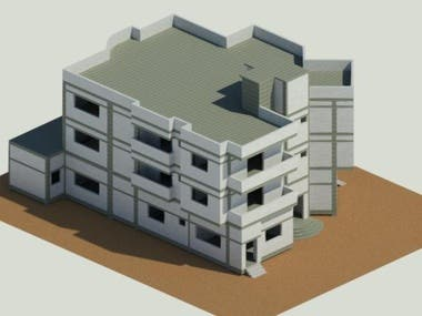 residential building design and structural modelling