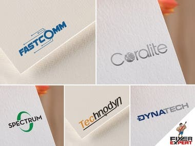 Modern logo designs for IT company