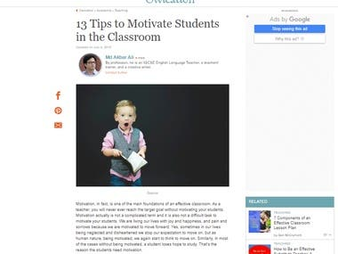 13 Tips to Motivate Students in the Classroom