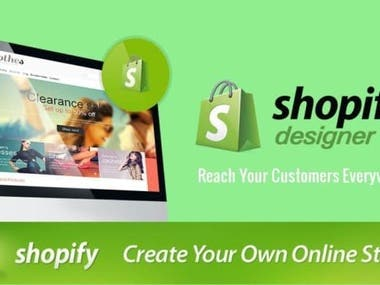 Shopify store Designer