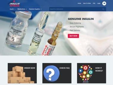 WordPress Site:- http://insulinxpress.com/