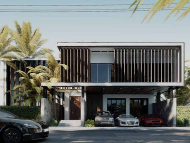 Extrior Villa Design